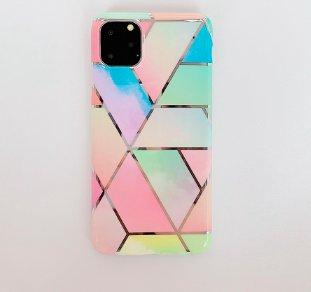 Mobilskal till iPhone XR olika nyanser av pastellfärger