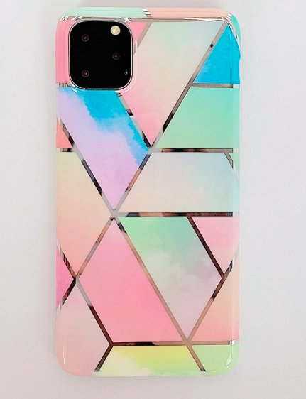 Mobilskal till iPhone 11 olika nyanser av pastellfärger