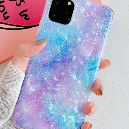 Mobilskal till iPhone X/XS med pärlemor multicolour