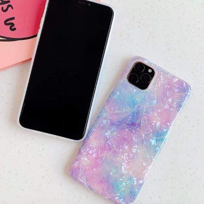 Mobilskal till iPhone XR med pärlemor multicolour