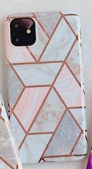 Mobilskal till iPhone XR med marmormönster