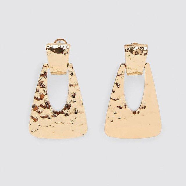 Örhänge earring guld jewelry statement