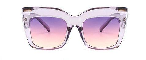 Oversized cateye sunglasses UV400