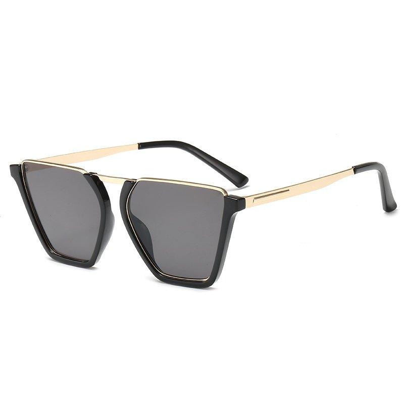 Vintage Half Frame Sunglasses UV400
