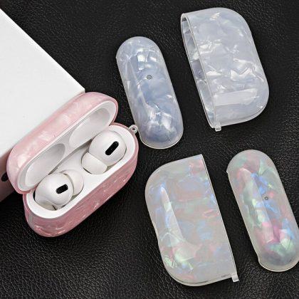 Airpods Pro Skal i Syntetisk pärlemor