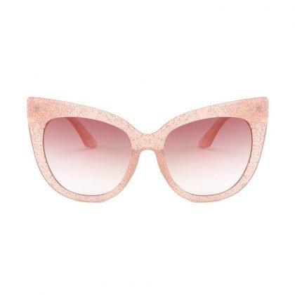 Stora cateye solglasögon UV400