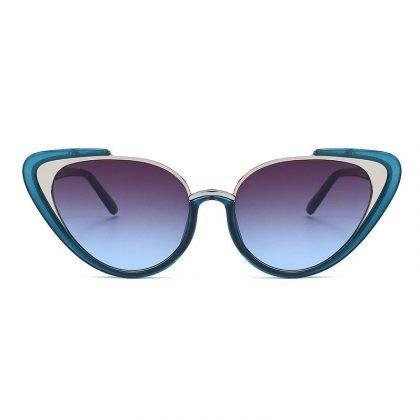 Super snygga 2020 Mode Cat-Eye Solglasögon för kvinnor UV400