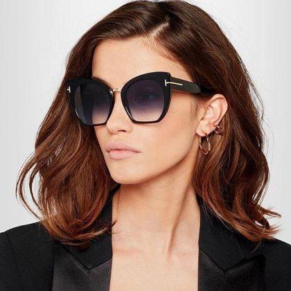 Stora solglasögon inspirerade av Gucci