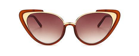 Snygga 2020 Mode Cat-Eye Solglasögon för kvinnor UV400