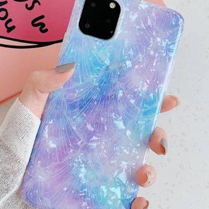 Mobilskal till iPhone 11 Pro med pärlemor multicolour