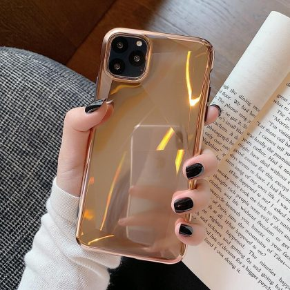 Elektro och glitterpläterat Mobilskal till iPhone11 Guld