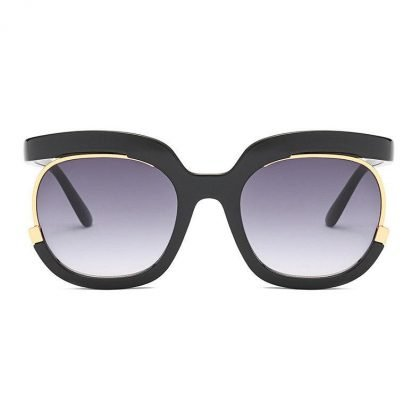 Supersnygga 2020 Mode Oversized Women Solglasögon UV400
