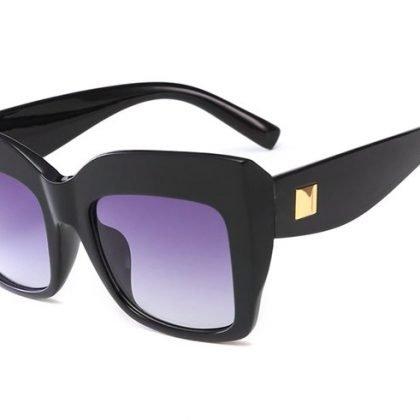 Oversized cateye solglasögon UV400 Kylie