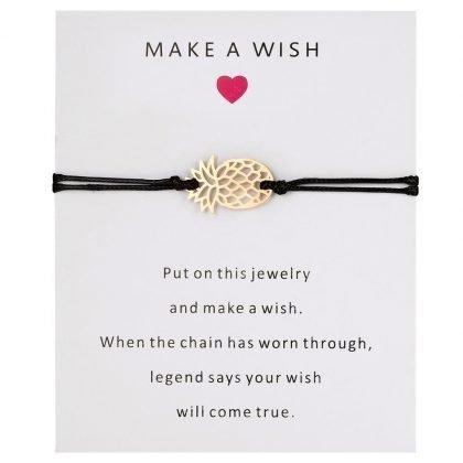 Önske-armband med ananas perfekt julkapp gåva present