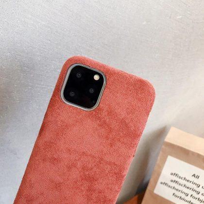 Skal till iPhone11 Pro Max i lyxigt sammetsmaterial