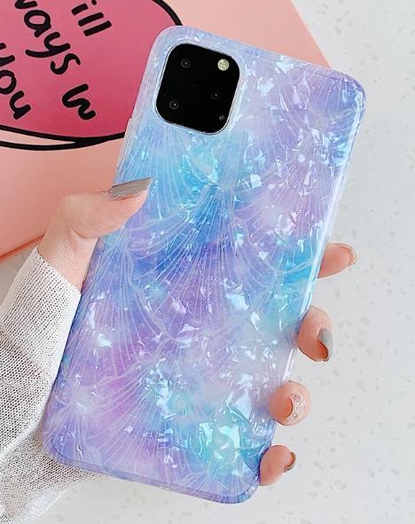 Mobilskal till iPhone 11 Pro Max med pärlemor multicolour