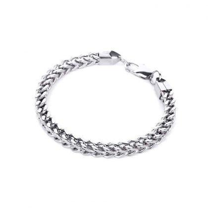 Lyxigt titanium armband för män punk