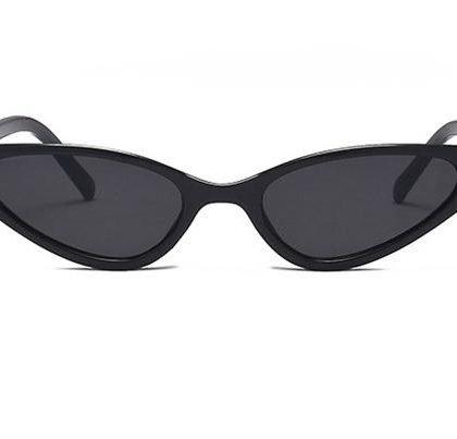Spetsiga cat eye solglasögon triangel