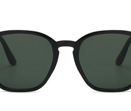 Militärgröna solglasögon för män
