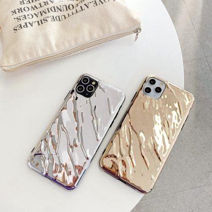 Unikt Metall Mobilskal till iPhone 11 Pro Max i Silver