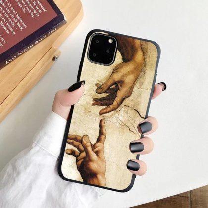 iPhone 12 & 12 Pro Skal Michelangelo Adams skapelse