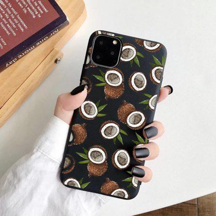 iPhone 12 Pro Max skal kokosnöt kokos tropisk