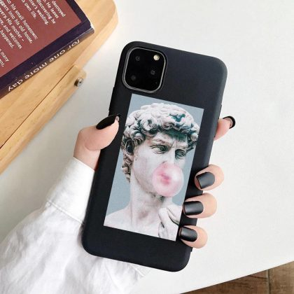 iPhone 12 & 12 Pro skal david staty michelangelo tuggummi