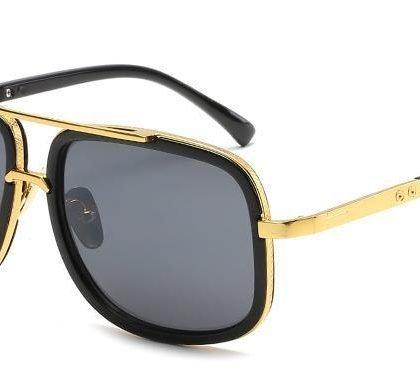Solglasögon till män i metall mode sommar 2021 pilot