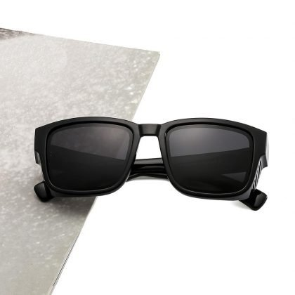Ihåliga Solglasögon med polariserat glas unika bågar