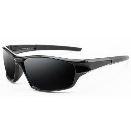 Polariserade solglasögon till sport och utomhus svart