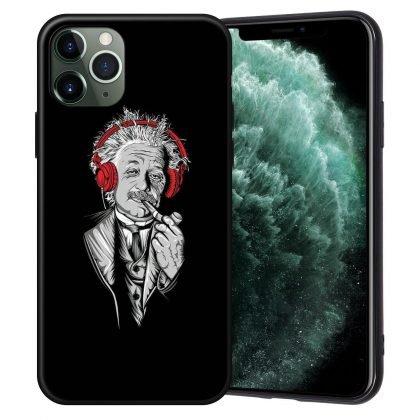 iPhone 12, 12 Pro & Max skal Einstein röker pipa hörlurar