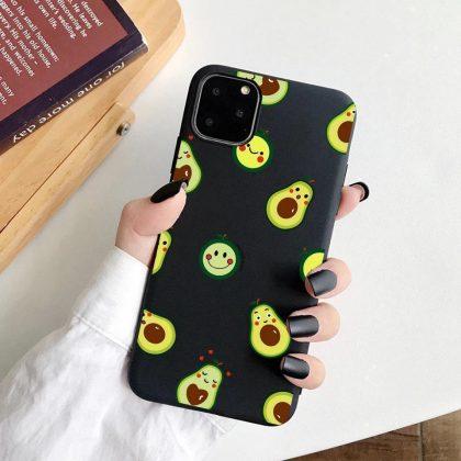 iPhone 13 Pro Max Mini skal glada avokado grön svart